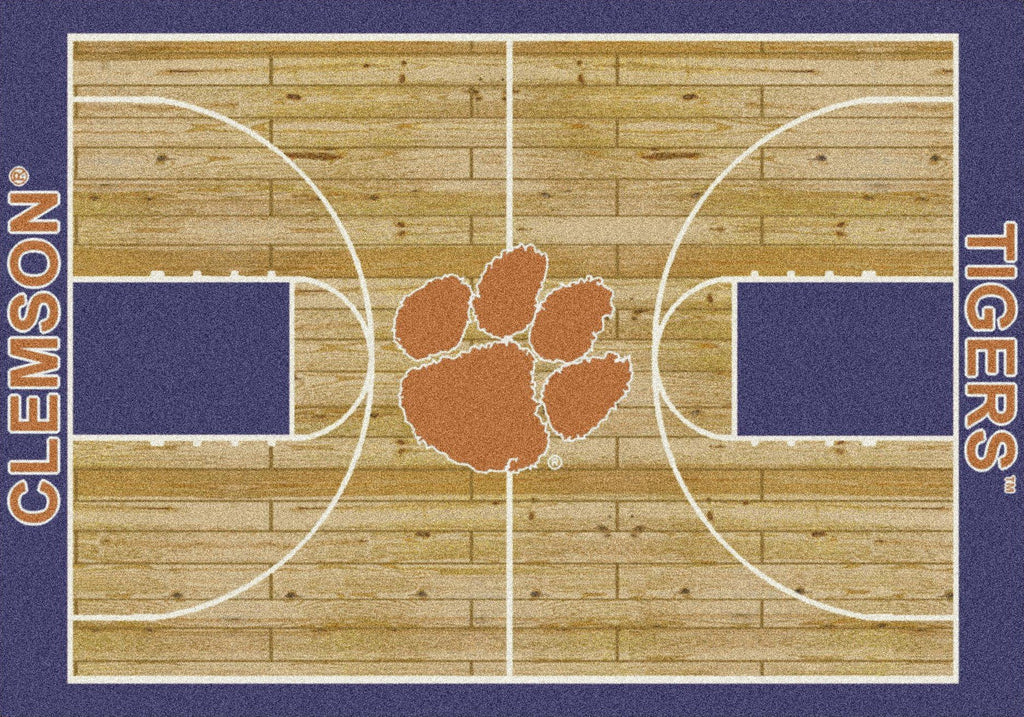 Fan Cave Rugs:Clemson Rug Home Court