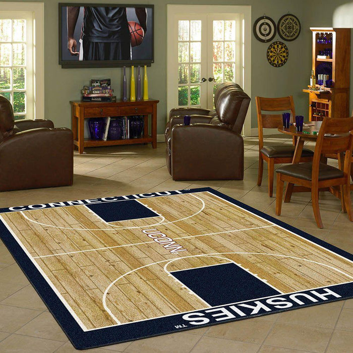 Connecticut Rug Home Court - Fan Cave Rugs