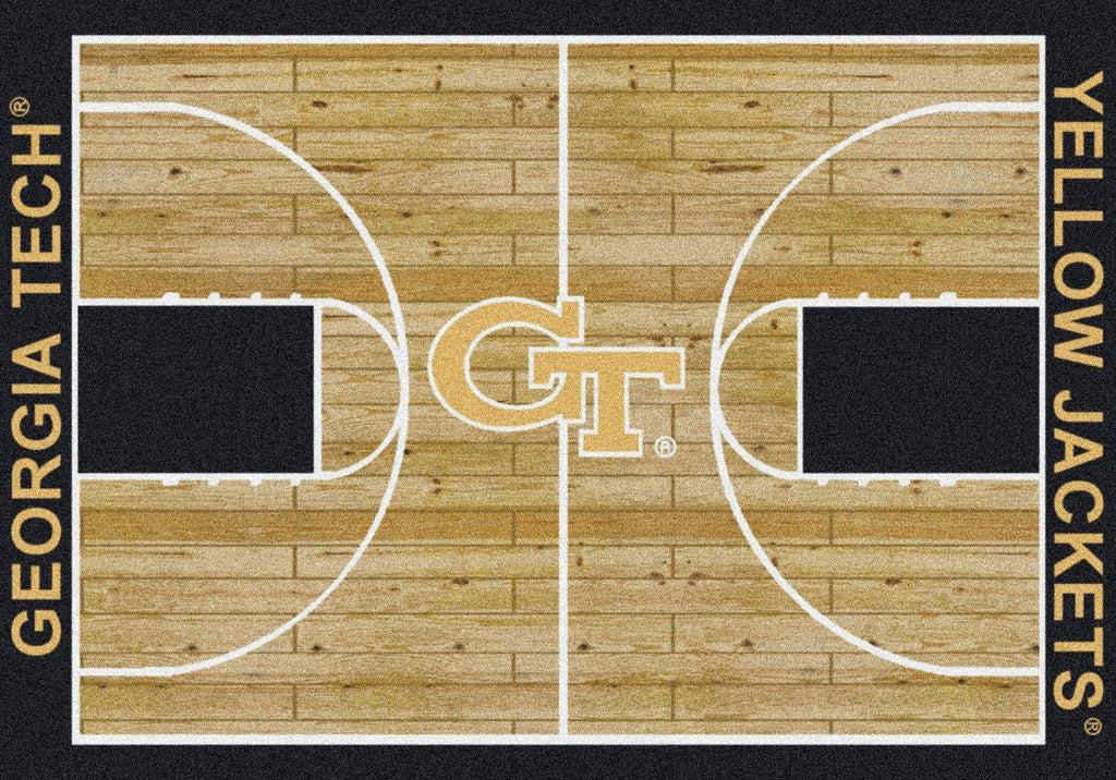 Georgia Tech Rug Team Home Court