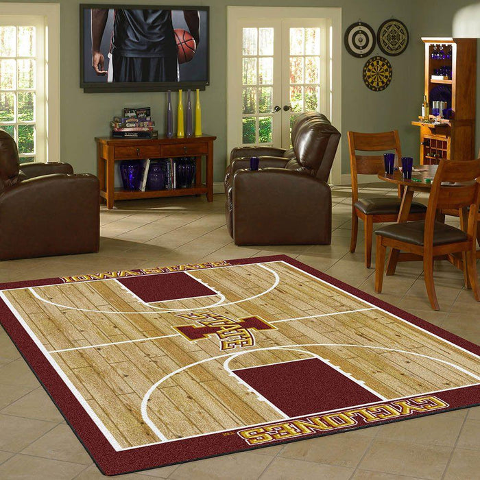 Iowa state cyclones home court rug