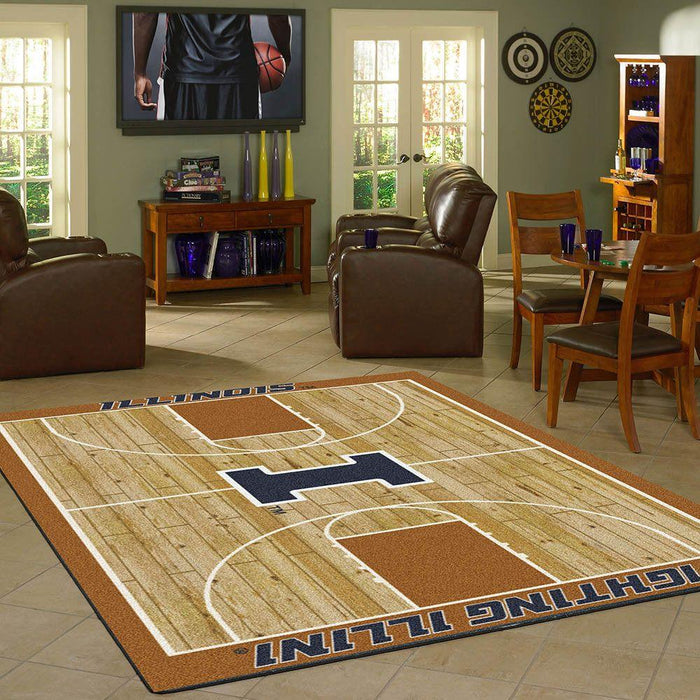 Illinois Rug Team Home Court