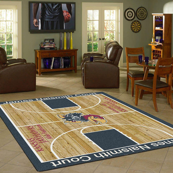 Kansas Rug Team Home Court