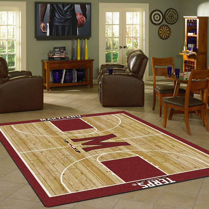 Maryland Rug Team Home Court - Fan Cave Rugs