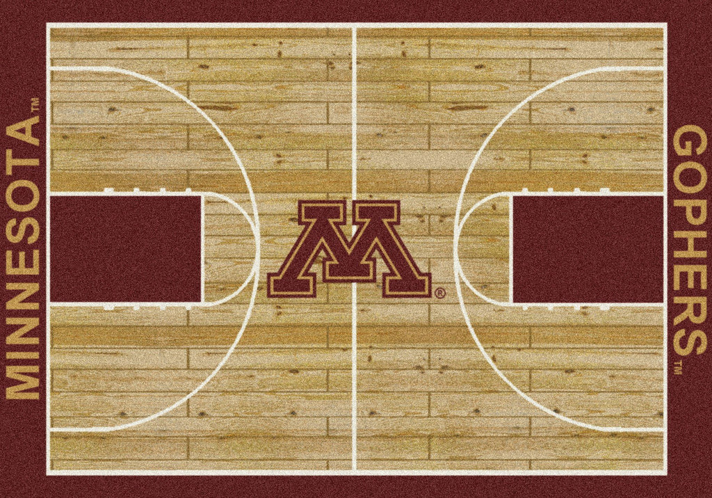 Minnesota Rug Team Home Court - Fan Cave Rugs
