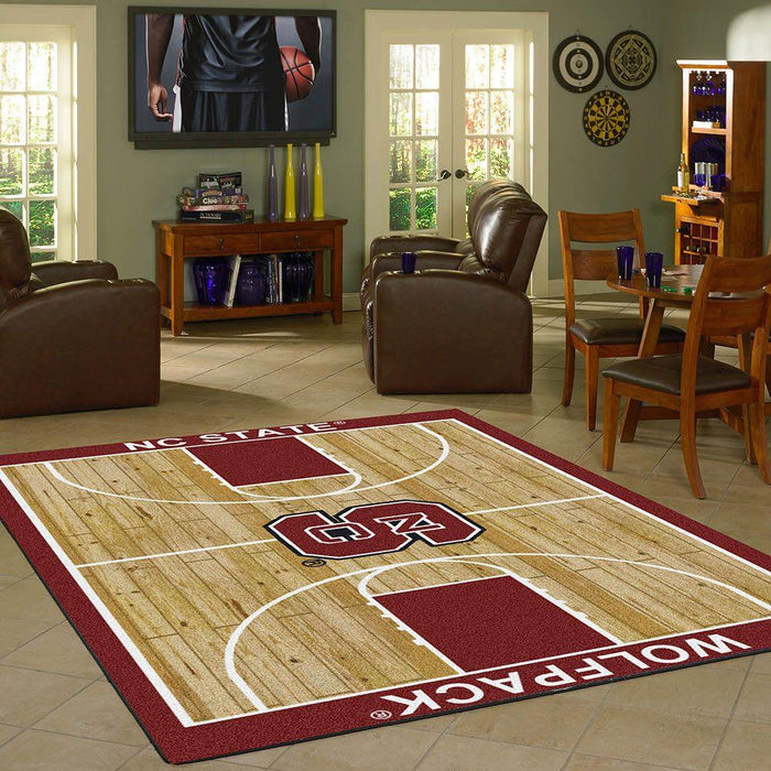 North Carolina State Rug Team Home Court