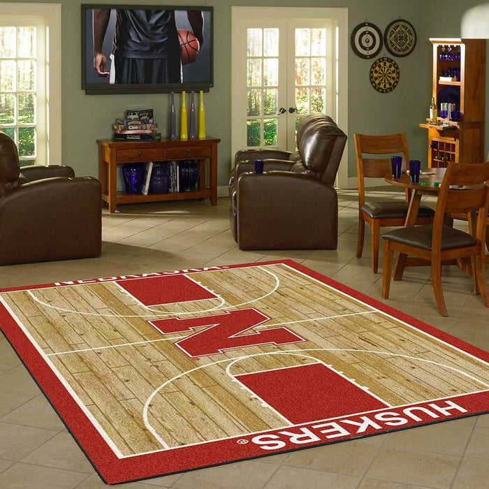 Nebraska Rug Team Home Court