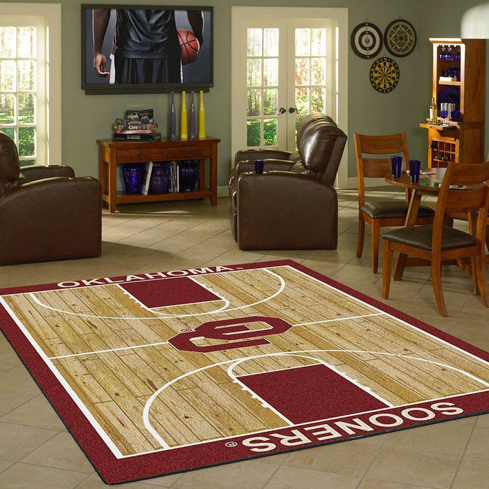 Oklahoma Rug Team Home Court