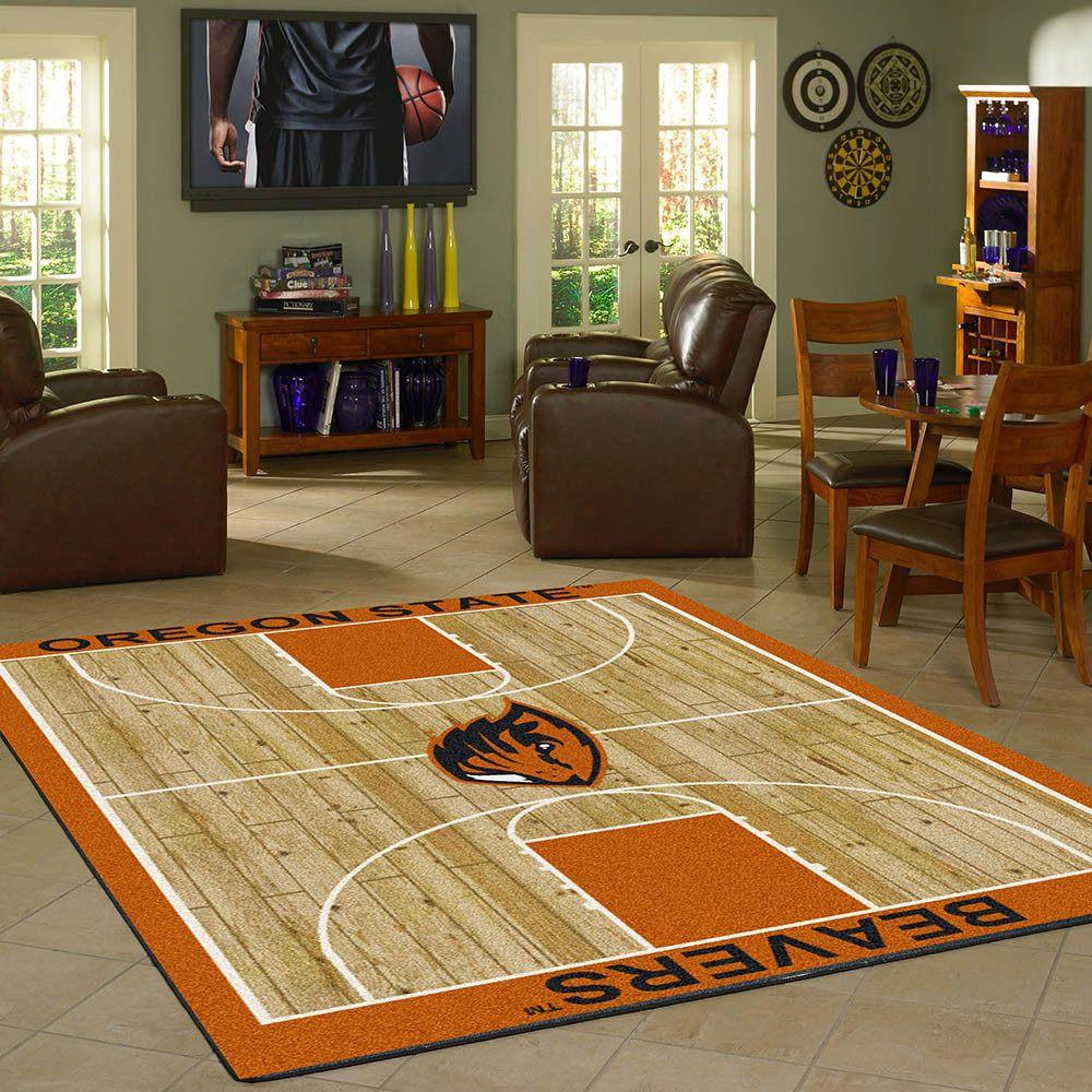 Oregon State Rug Team Home Court