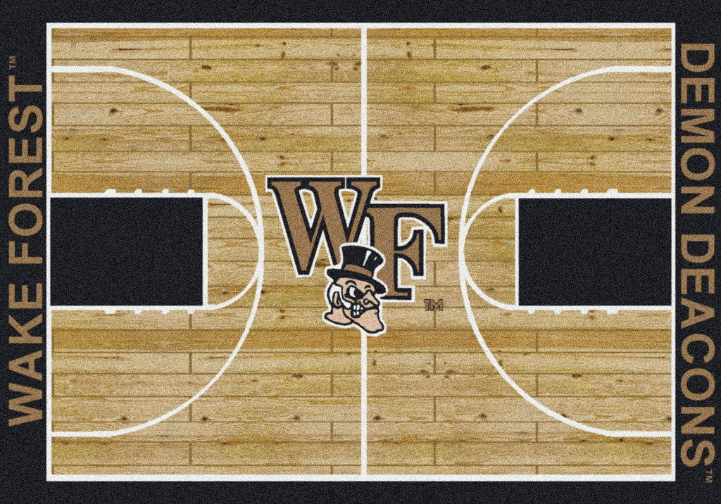 Wake Forest Rug Team Home Court