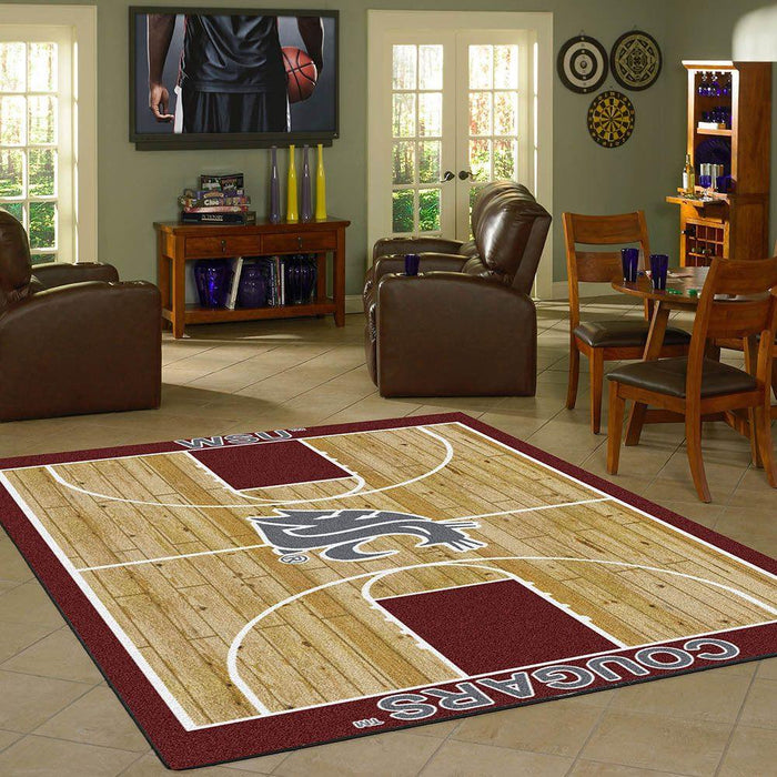 Washington State Rug Team Home Court