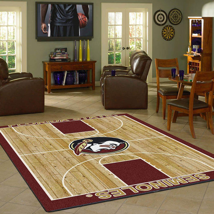 Florida State Rug Team Home Court
