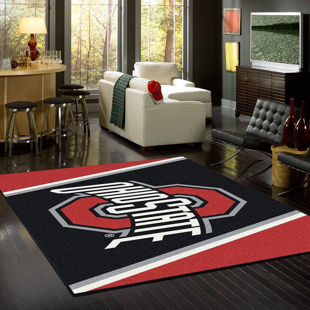 Ohio State Rug Team Spirit Alt