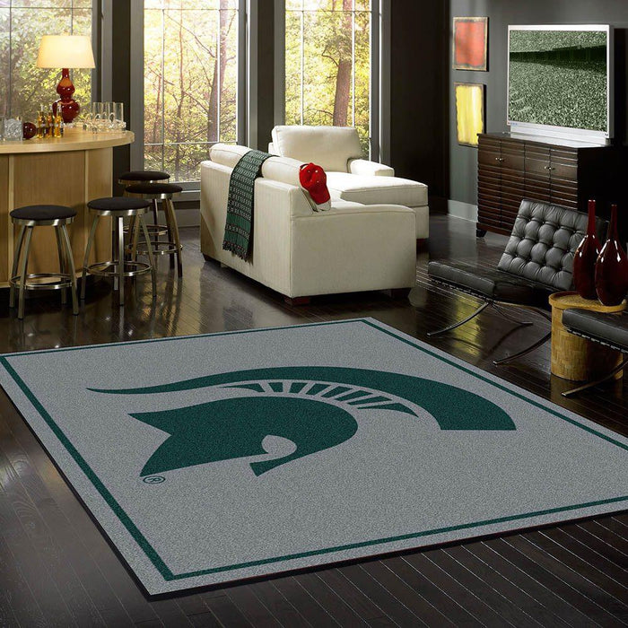 Michigan State Rug Team Spirit Gray