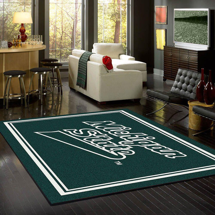 Michigan State Rug Team Spirit - Fan Cave Rugs