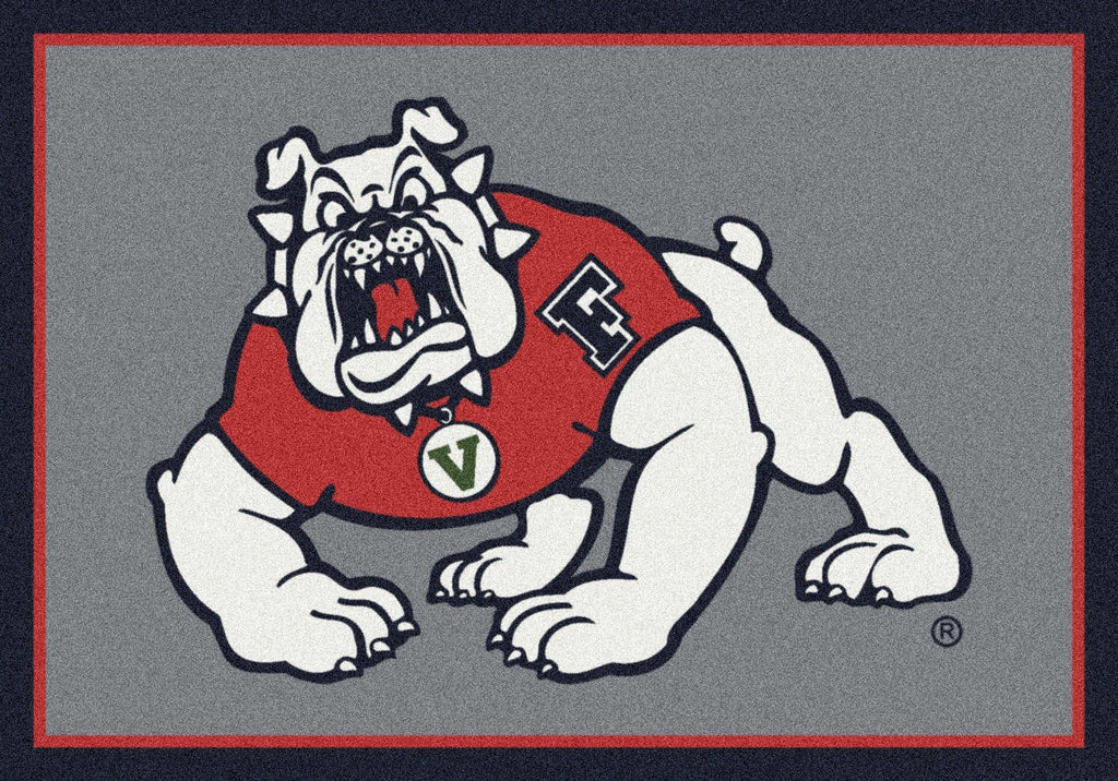 Fan Cave Rugs:Cal State Fresno Rug Team Spirit