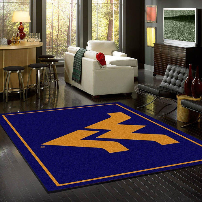 West Virginia Rug Team Spirit