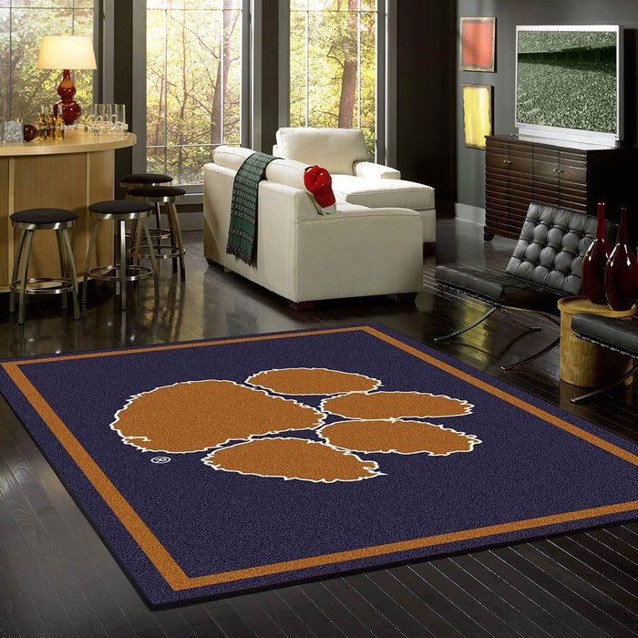Fan Cave Rugs:Clemson Rug Team Spirit
