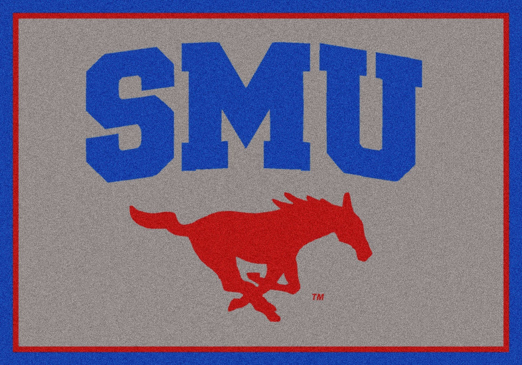 Southern Methodist Rug Team Spirit