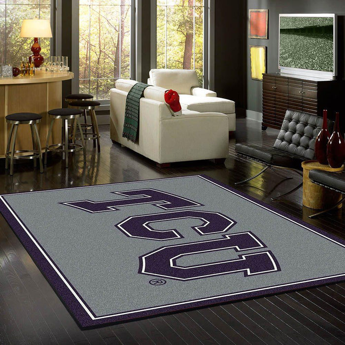 Texas Christian Rug Team Spirit