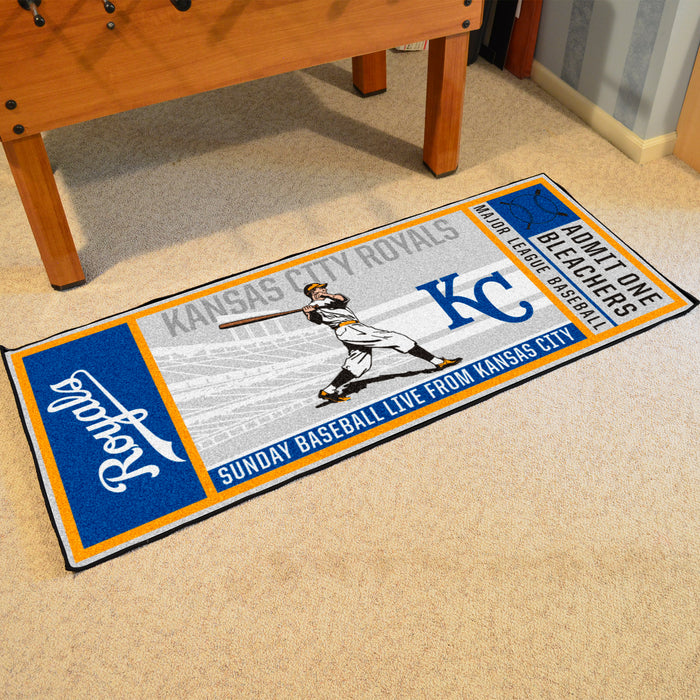 Retro Collection - 1969 Kansas City Royals Ticket Runner