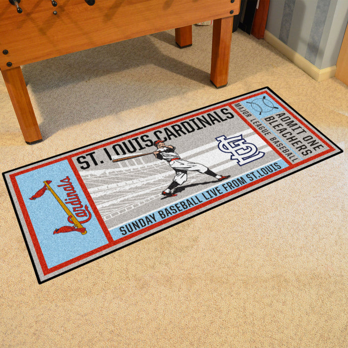Retro Collection - 1976 St. Louis Cardinals Ticket Runner