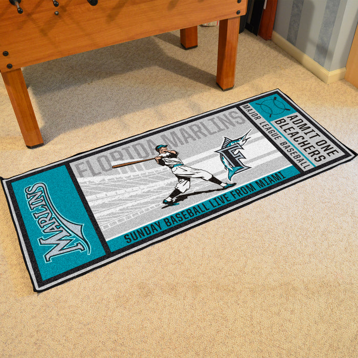 Retro Collection - 1993 Florida Marlins Ticket Runner