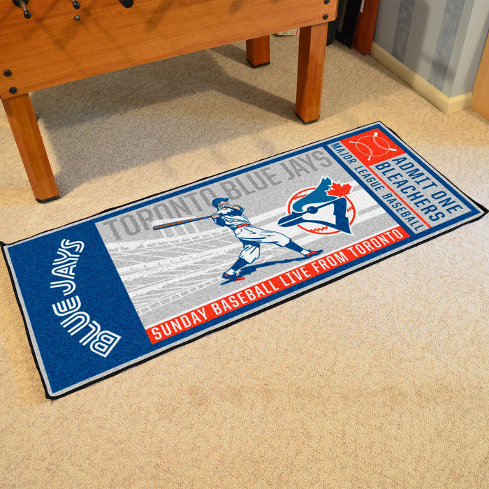 Retro Collection - 1993 Toronto Blue Jays Ticket Runner
