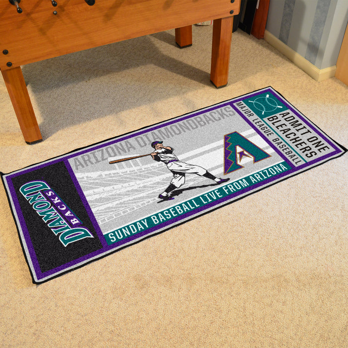 Retro Collection - 1998 Arizona Diamondbacks Ticket Runner