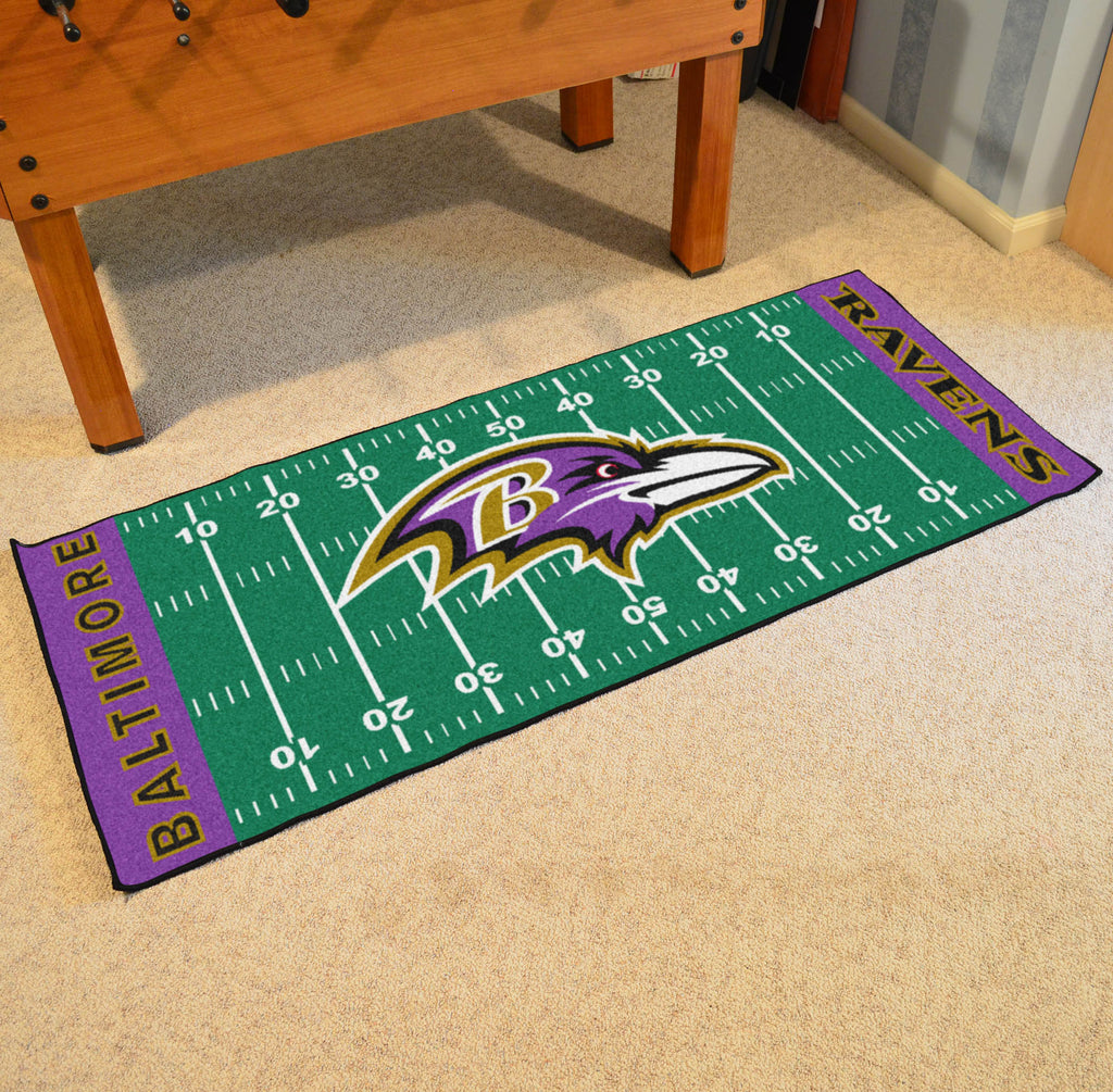 "NFL - Baltimore Ravens Runner 30""x72"""