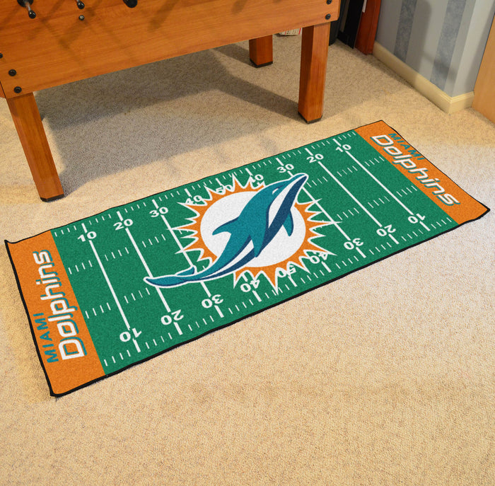 "NFL - Miami Dolphins Runner 30""x72"""