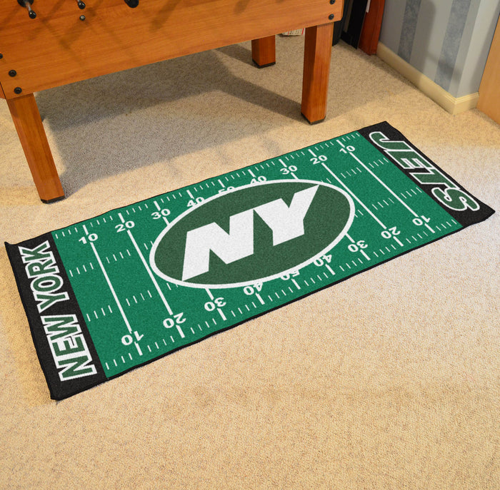 "NFL - New York Jets Runner 30""x72"" - Fan Cave Rugs"