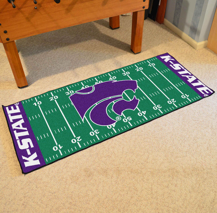 "Kansas State Runner 30""x72"" - Fan Cave Rugs"