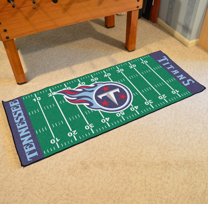 "NFL - Tennessee Titans Runner 30""x72"" - Fan Cave Rugs"
