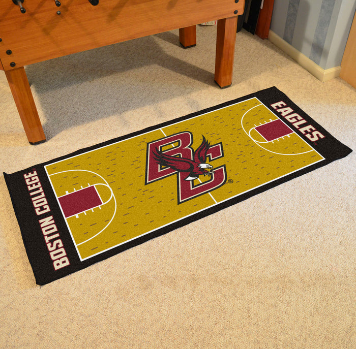"Boston College Basketball Court Runner 30""x72"""
