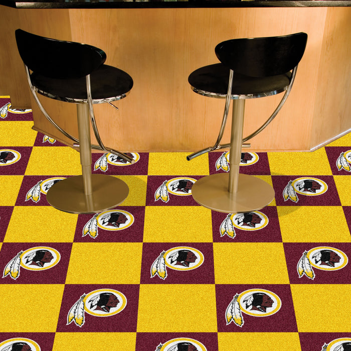 "NFL - Washington Redskins 18""x18"" Carpet Tiles"