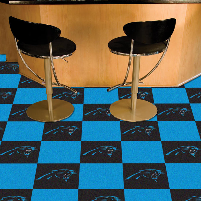 "NFL - Carolina Panthers 18""x18"" Carpet Tiles"