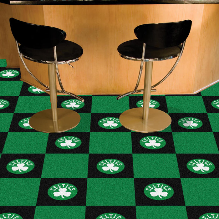 "NBA - Boston Celtics 18""x18"" Carpet Tiles"