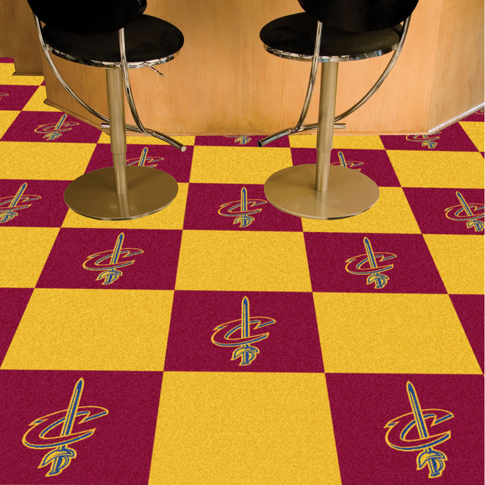 "NBA - Cleveland Cavaliers 18""x18"" Carpet Tiles"