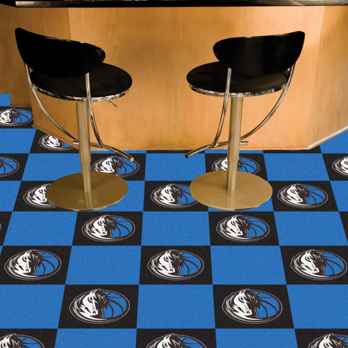 "NBA - Dallas Mavericks 18""x18"" Carpet Tiles"