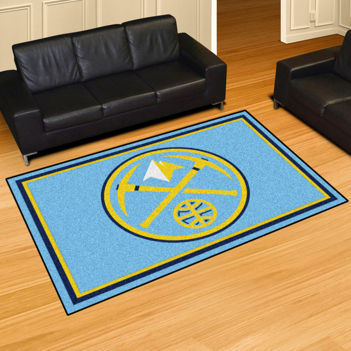 NBA - Denver Nuggets Rug - Fan Cave Rugs