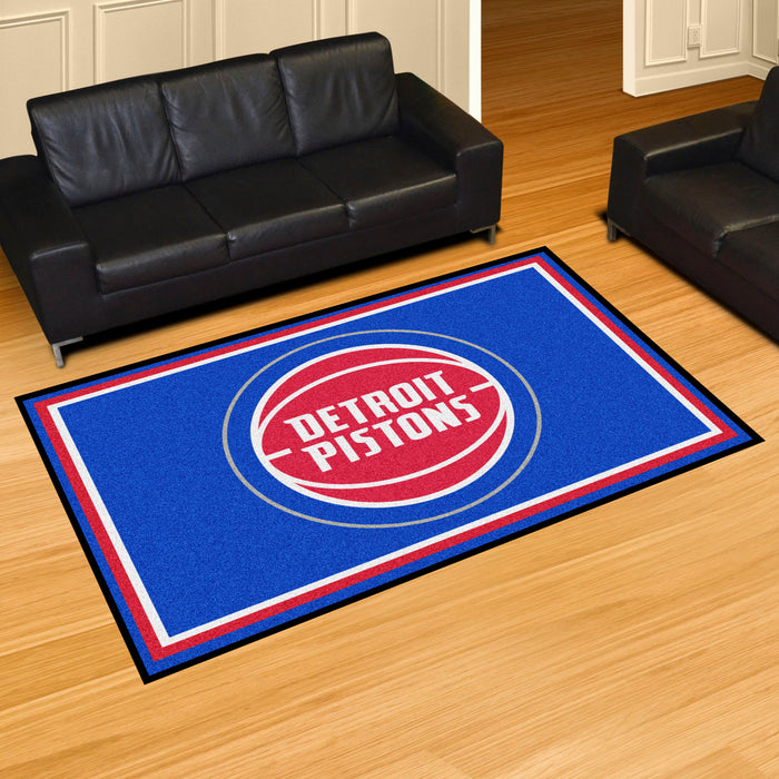 NBA - Detroit Pistons Rug - Fan Cave Rugs