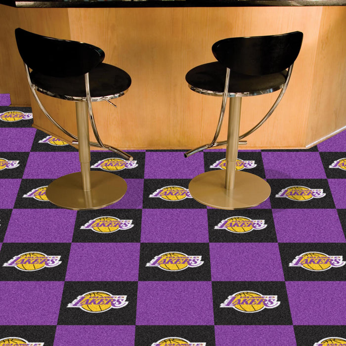 "NBA - Los Angeles Lakers 18""x18"" Carpet Tiles"