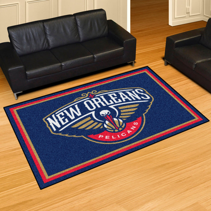 NBA - New Orleans Pelicans Rug - Fan Cave Rugs