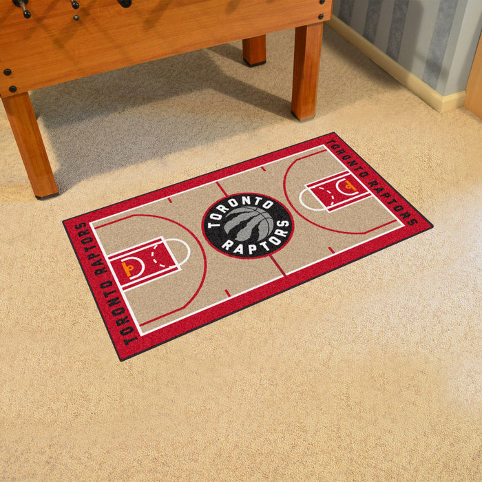 NBA - Toronto Raptors Large Court Runner 29.5x54