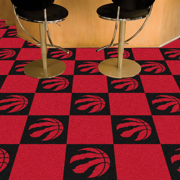 "NBA - Toronto Raptors 18""x18"" Carpet Tiles"