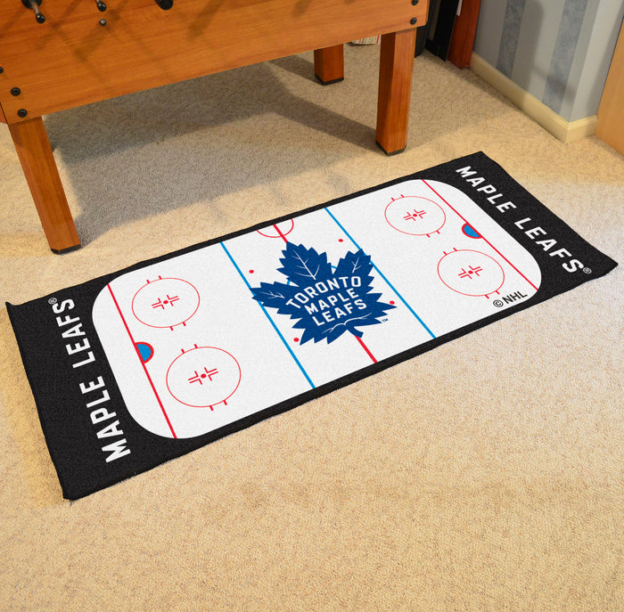 "NHL - Toronto Maple Leafs Rink Runner 30""x72"""