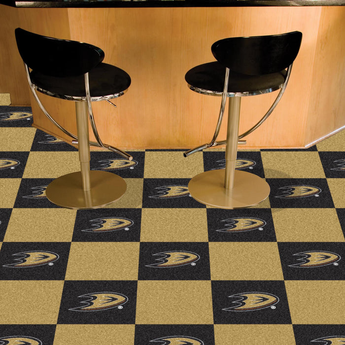 "NHL - Anaheim Ducks 18""x18"" Carpet Tiles"