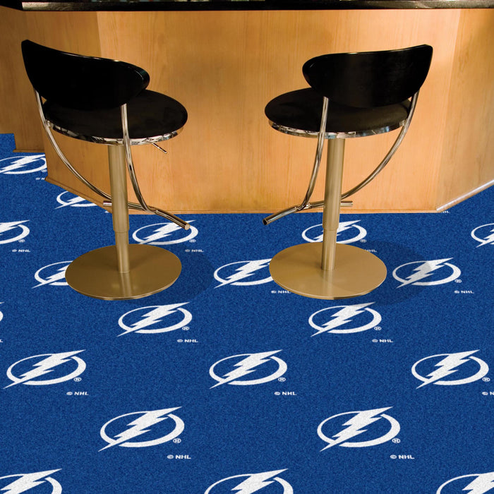 "NHL - Tampa Bay Lightning 18""x18"" Carpet Tiles"