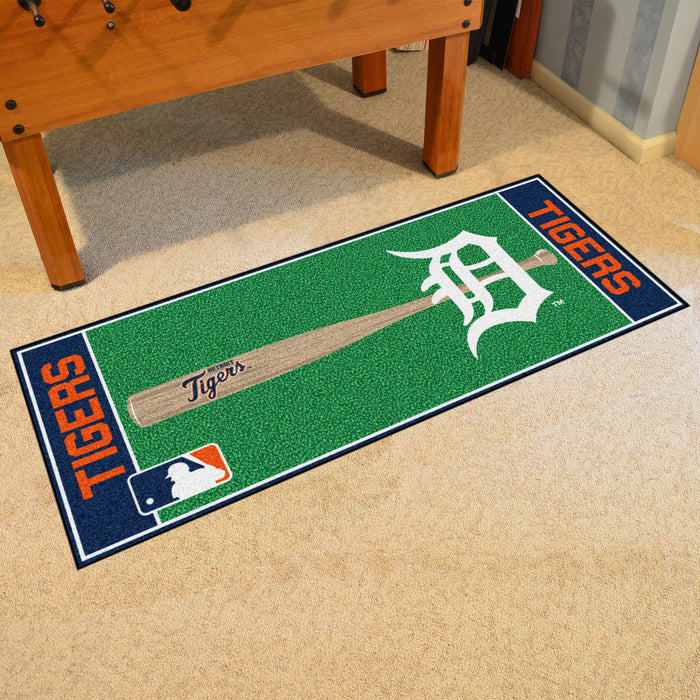 "MLB - Detroit Tigers Baseball Runner 30""x72"""