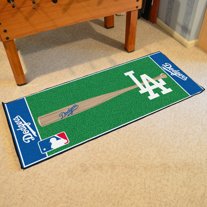 "MLB - Los Angeles Dodgers Baseball Runner 30""x72"""